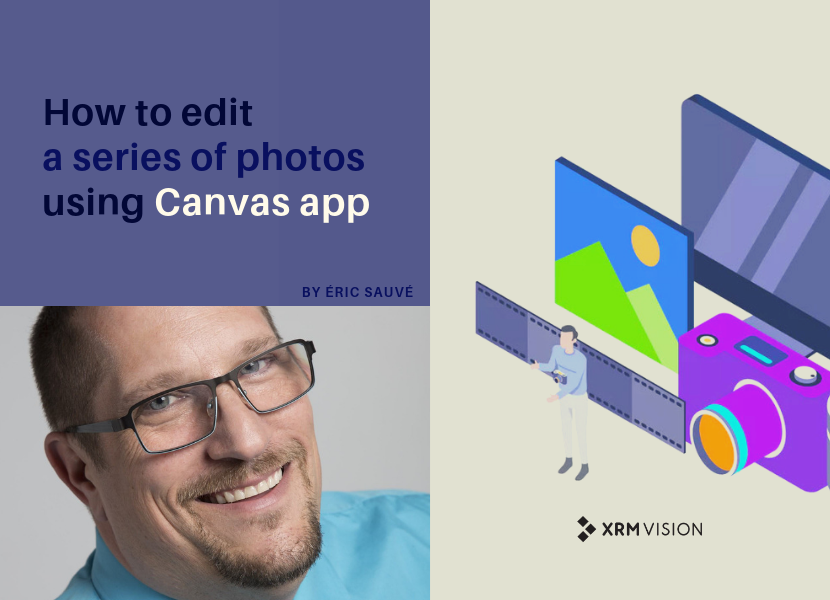 How to edit a series of photos using Canvas app