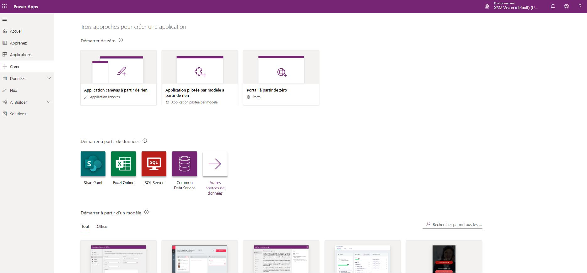 Create a business application using Microsoft Power Apps