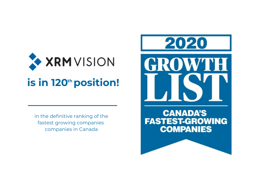 2020 Growth 500 - XRM Vision in 120th position